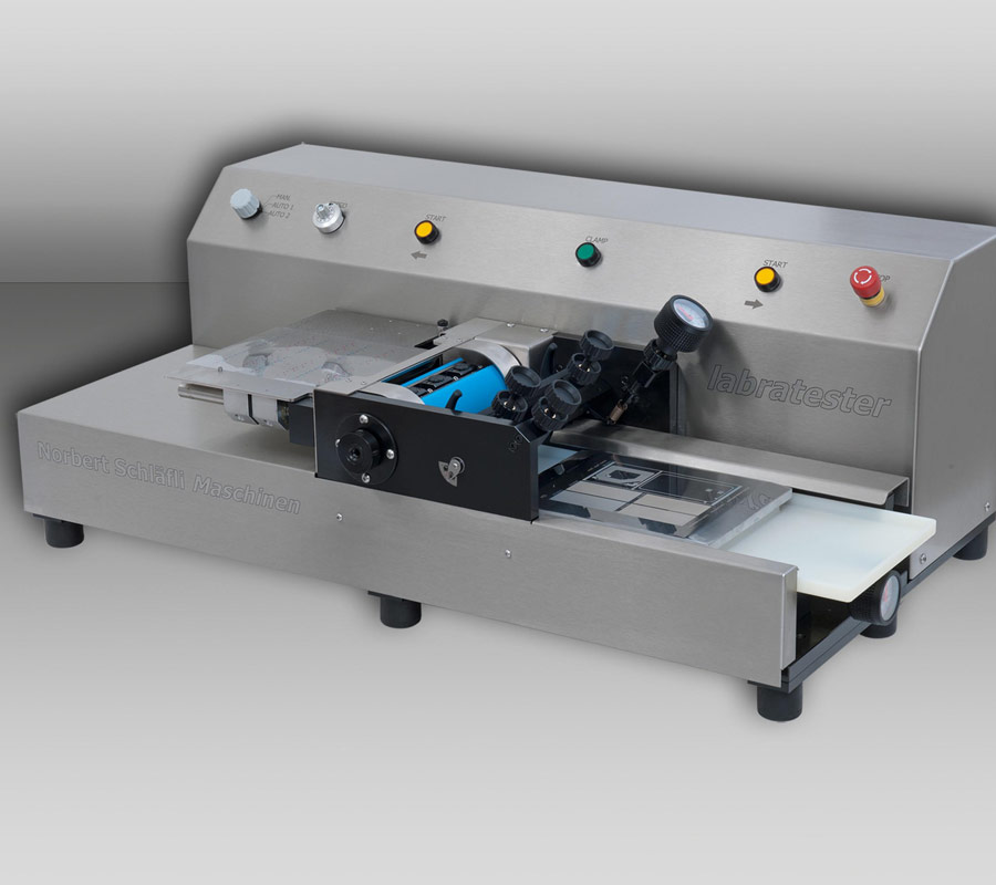 labratester 180 | laboratory sheet-fed gravure printing maschine by nsm