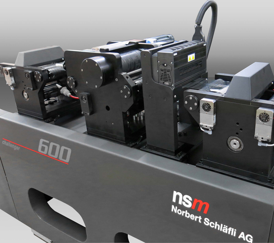 challenger 600 | R2R printing and coating system by nsm