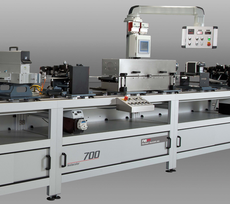 testacolor 700 | R2R printing and coating system by nsm